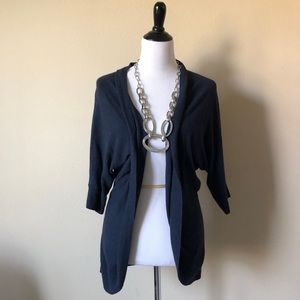 Sweaters - Navy blue cardigan               C6